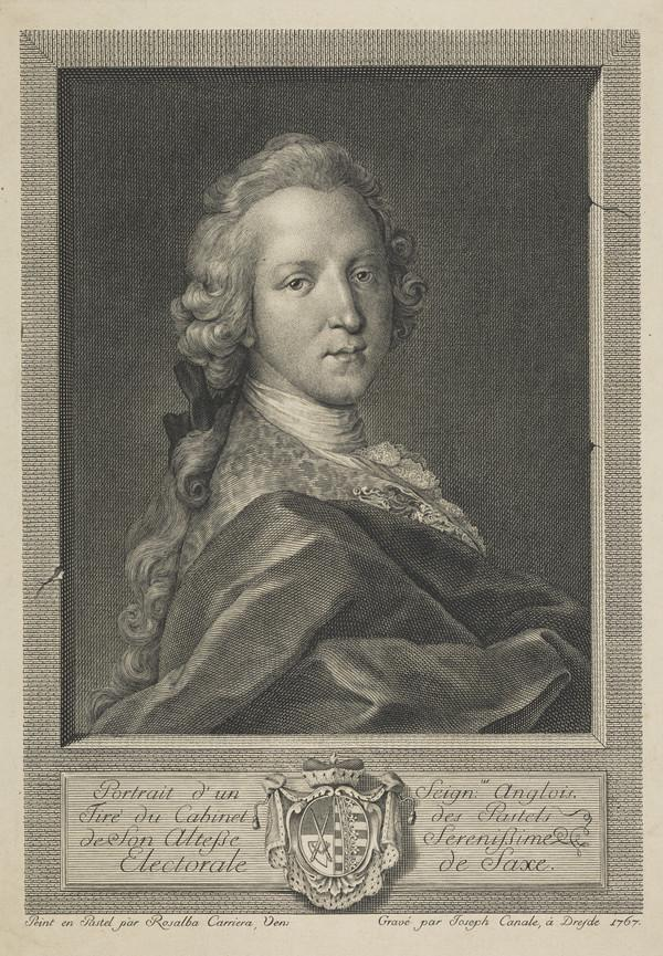 Prince Charles Edward Stuart, 1720 - 1788. Eldest son of Prince James Francis Edward Stuart (1767)
