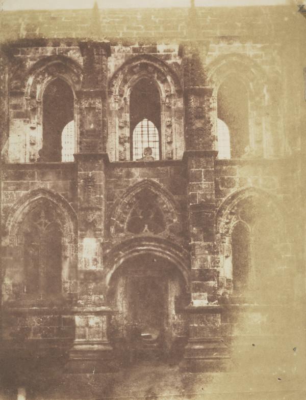 South facade of Rosslyn Chapel [Landscape 17] (1843 - 1847)
