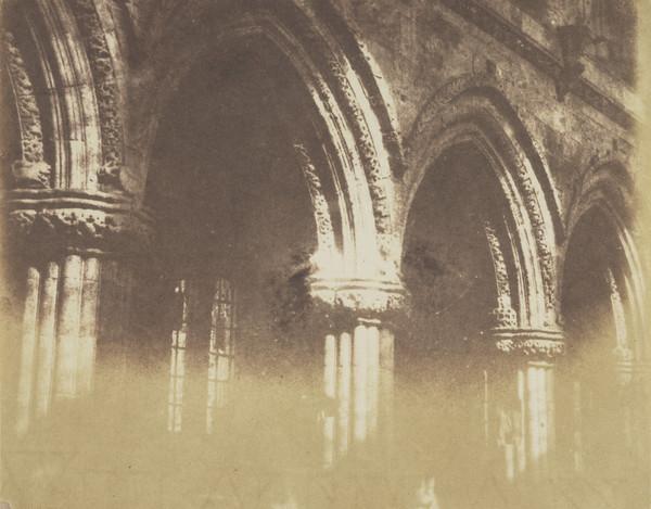 Rosslyn Chapel , interior [Landscape 24] (1843 - 1847)