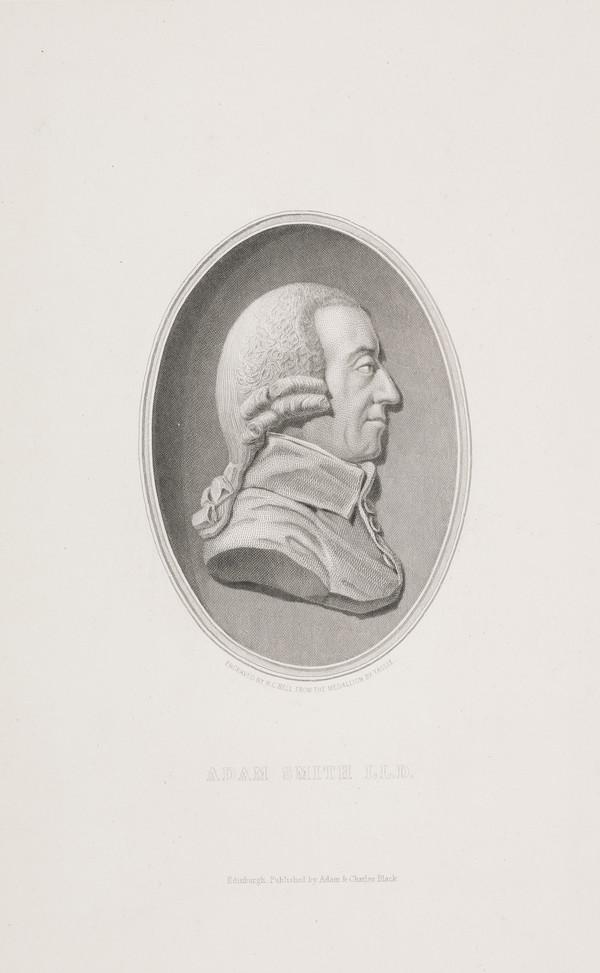 Adam Smith, 1723 - 1790. Political economist