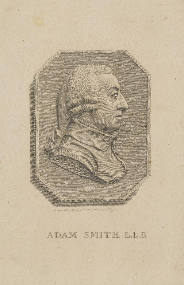 Adam Smith, 1723 - 1790. Political economist (Published 1801)