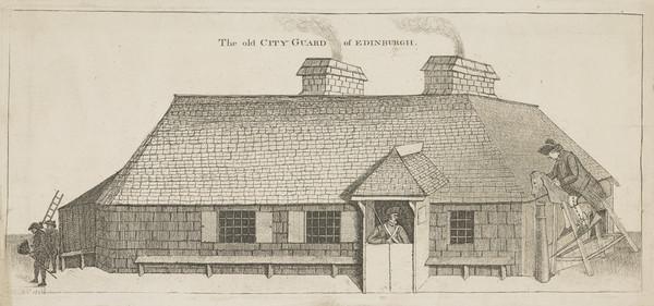 John Dhu. Edinburgh Town Guard (1786)