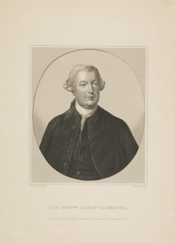 The Honourable Henry Drummond, d. 1795
