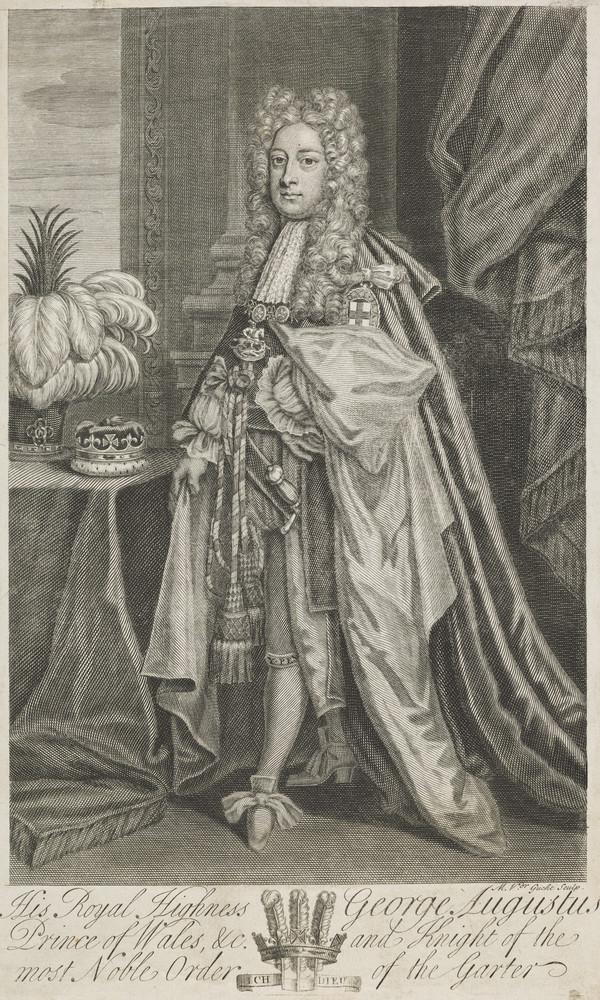 George II, 1683 - 1760. Reigned 1727 - 1760