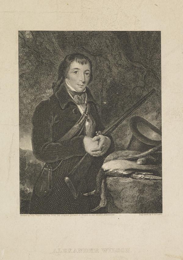 Alexander Wilson, 1766 - 1813. Ornithologist