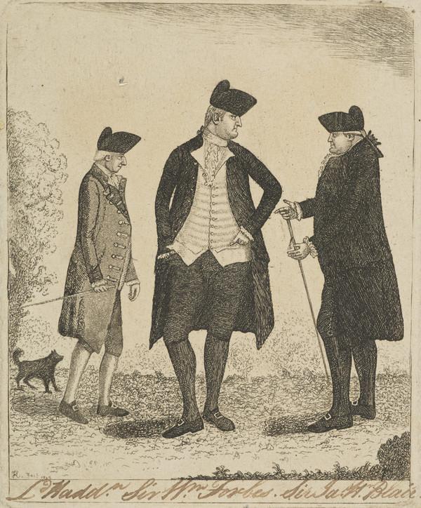 Sir James Hunter Blair, 1741 - 1787. Banker and Lord Provost of Edinburgh (1838)