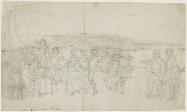 A Highland Dance (About 1792)