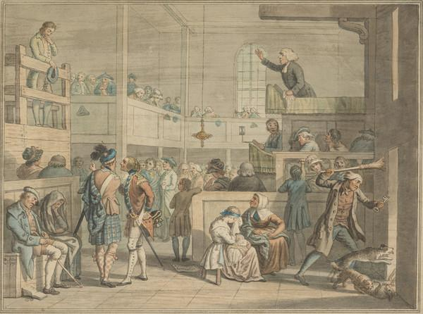 The Black Stool (The Stool of Repentance) (Dated October 1795)