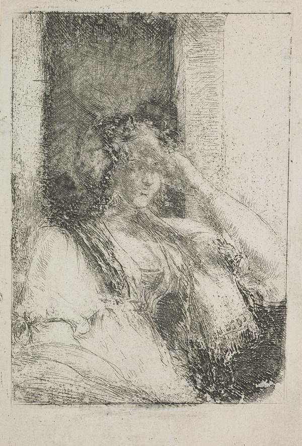 Lady Seated at a Window