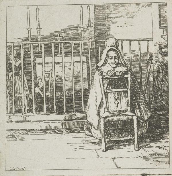 Woman at Prayer (Dated 1814)