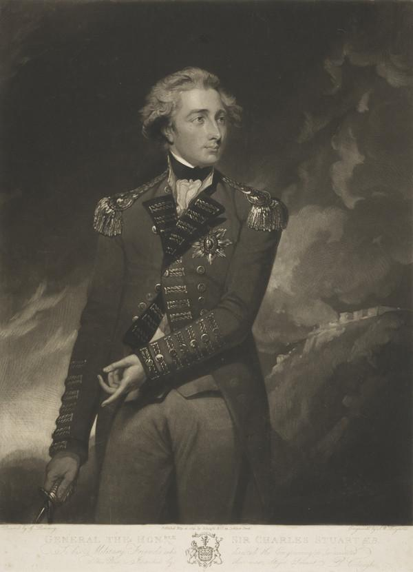 Sir Charles Stuart, c 1753 - 1793. General (Published 1803)