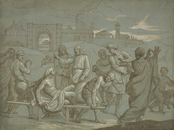 Christ Healing the Leper (Estimated earliest year: 1709)