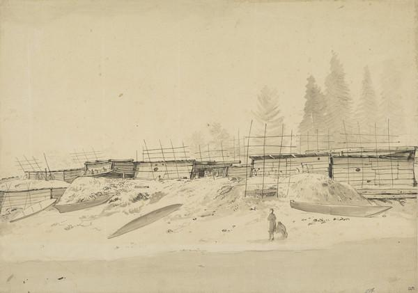 Houses in Nootka Sound (1778)
