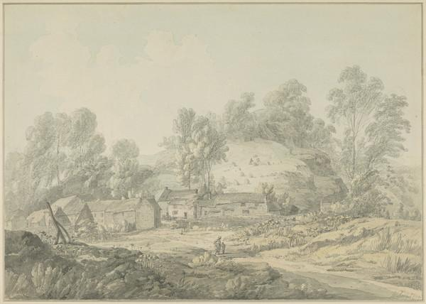 Near Cromford, Derbyshire (Dated 1789)
