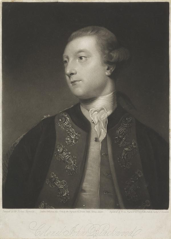 Colonel John Blackwood (Published 1821)