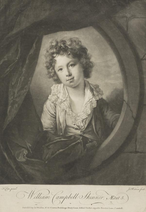 William Campbell Skinner, fl. c 1770. Son of General Skinner