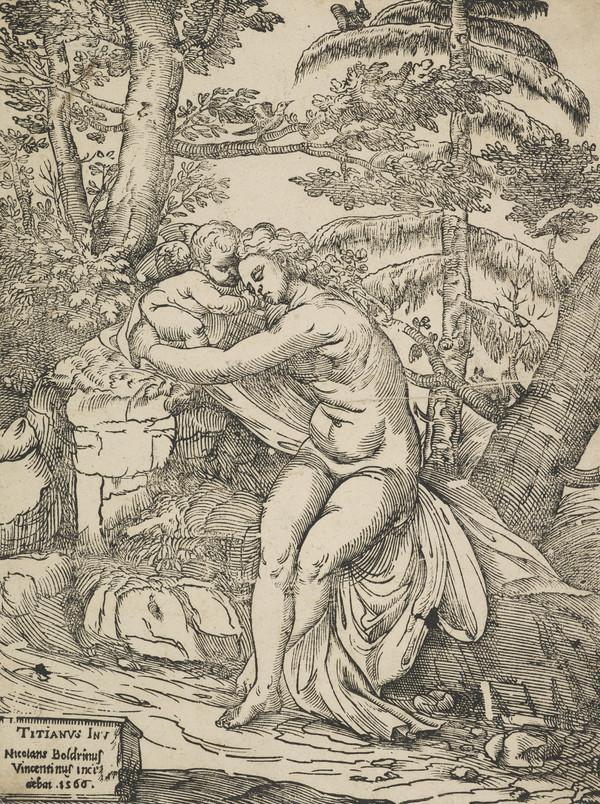 Venus and Cupid (1566)