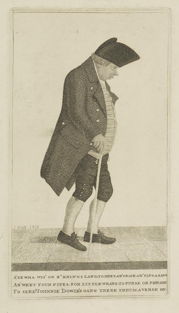 John Dowie, d. 1817. Vintner, Liberton's Wynd (1838)