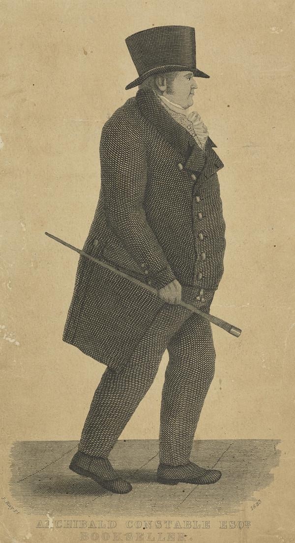 Archibald Constable, 1774 - 1827. Publisher
