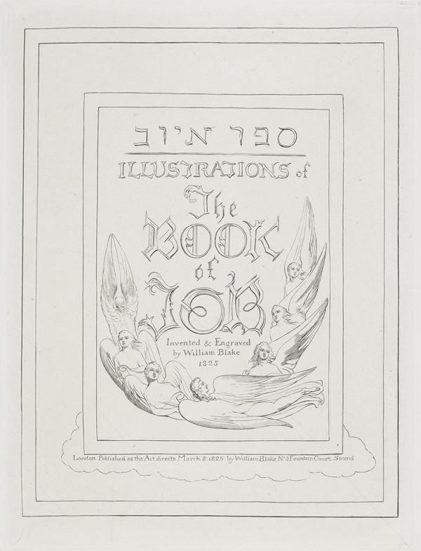 Illustration to 'The Book of Job': Frontispiece (1825)