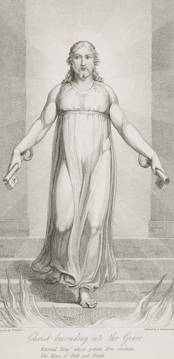 Illustration to Blair's 'The Grave': Christ Descending into the Grave (Published 1813)