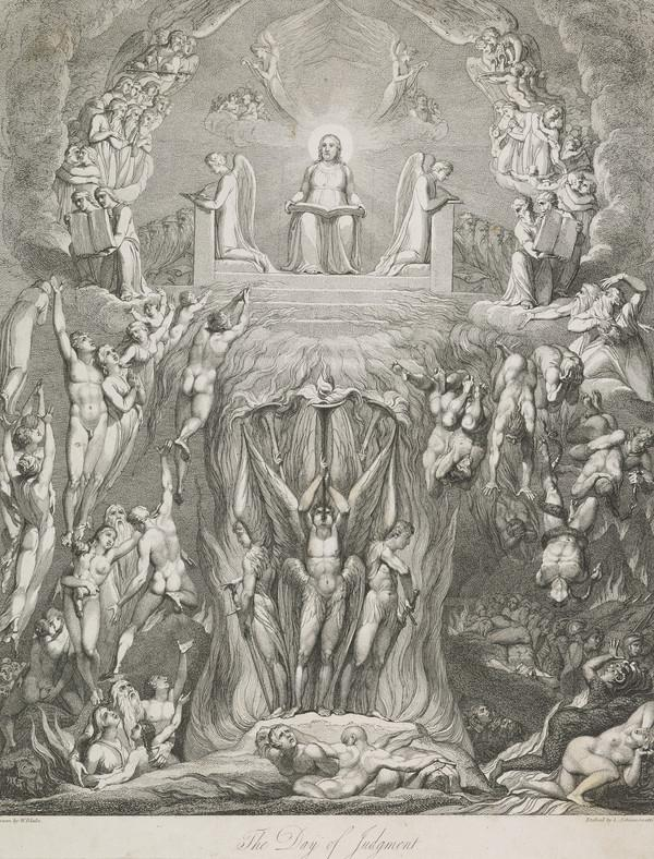 Illustration to Blair's 'The Grave': The Day of Judgement (Published 1813)