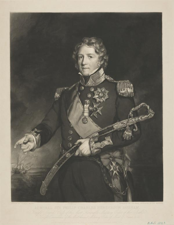 Admiral Sir Philip Charles Henderson Calderwood Durham, 1763 - 1845 (Published 1837)
