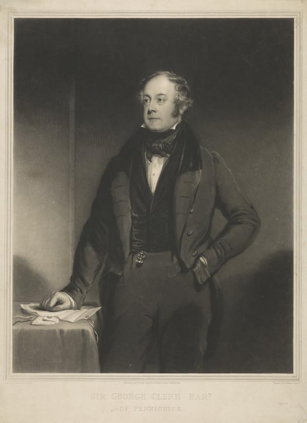 Sir George Clerk of Penicuik, 1787 - 1867 (1838)