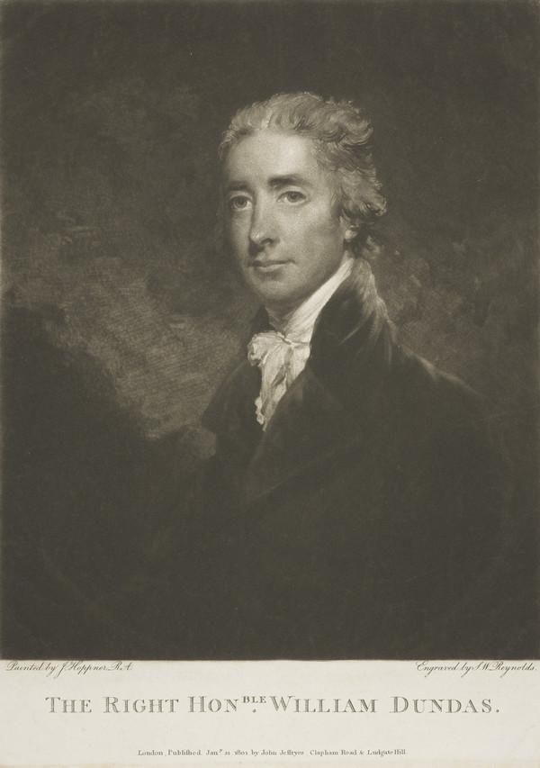 William Dundas, 1762 - 1845. Politician (1801)