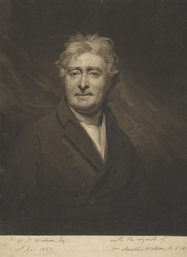 David Steuart Erskine, 11th Earl of Buchan, 1742 - 1829. Antiquary