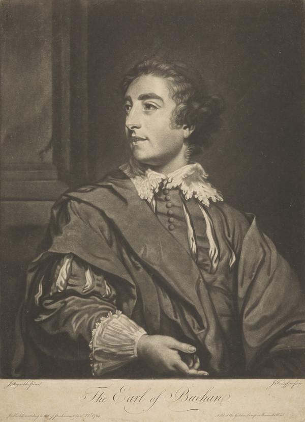 David Steuart Erskine, 11th Earl of Buchan, 1742 - 1829. Antiquary (Published 1765)