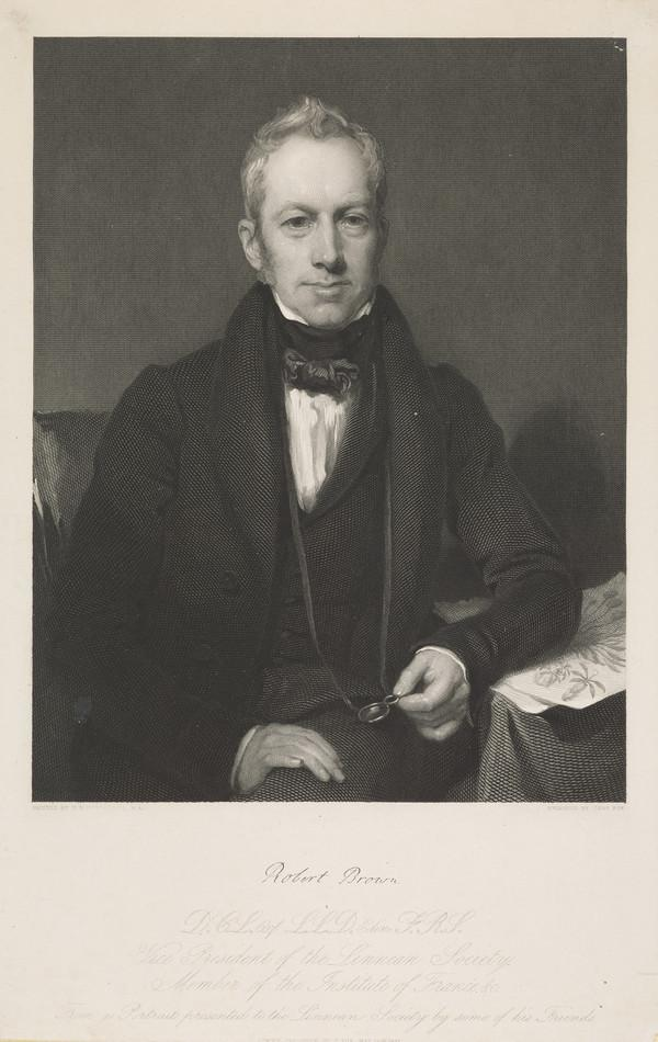 Robert Brown, 1773 - 1858 (Published 1837)