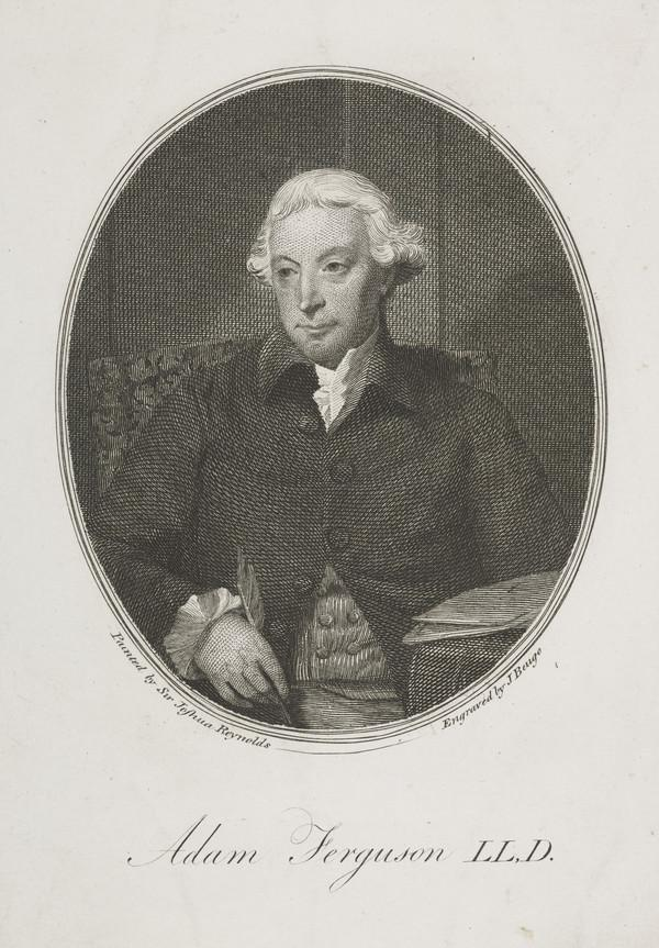 Adam Ferguson, 1723 - 1816. Professor of Philosophy, Edinburgh University