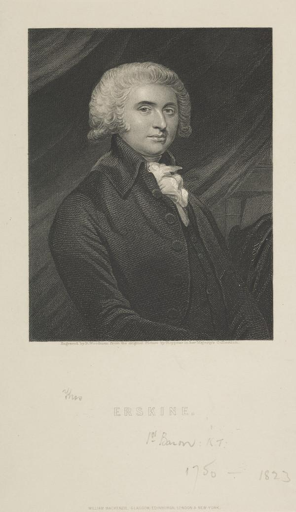 Thomas Erskine, 1st Baron Erskine, 1750 - 1823. Lord Chancellor