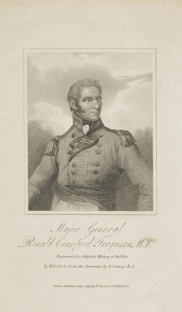 General Sir Ronald Ferguson, 1773 - 1841. Colonel 79th Highlanders; member of parliament for Nottingham (Published 1816)