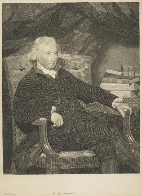Adam Ferguson, 1723 - 1816. Professor of Philosophy, Edinburgh University