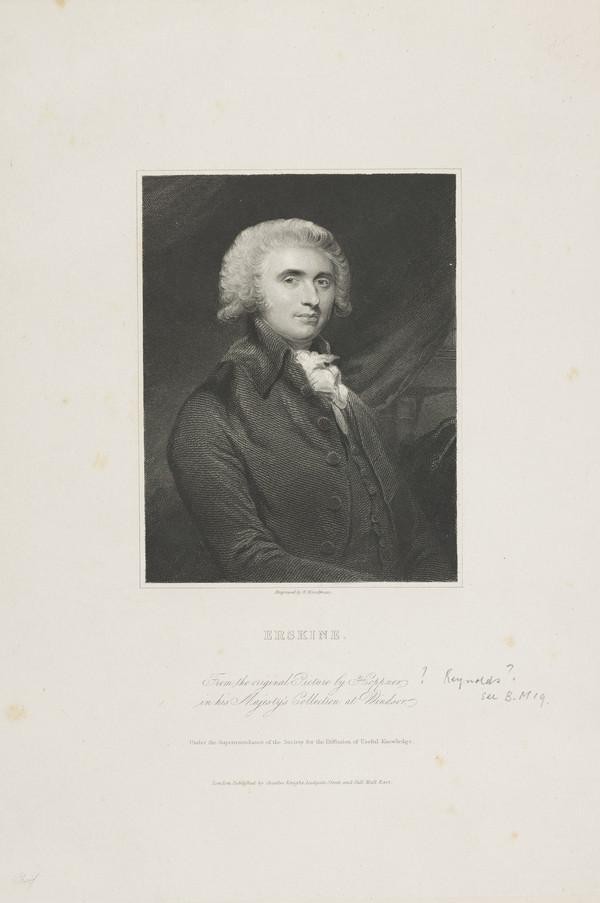 Thomas Erskine, 1st Baron Erskine, 1750 - 1823. Lord Chancellor