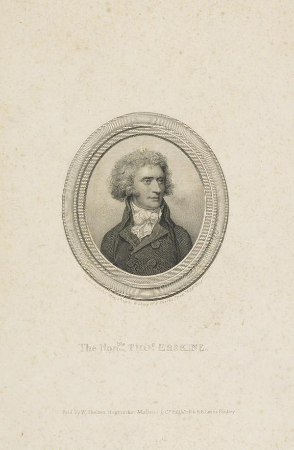 Thomas Erskine, 1st Baron Erskine, 1750 - 1823. Lord Chancellor (Published 1791)