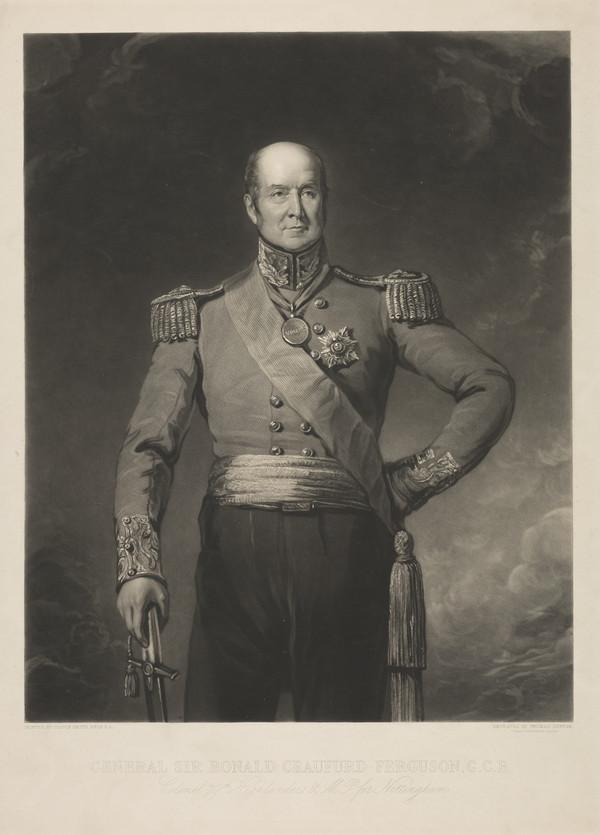 General Sir Ronald Ferguson, 1773 - 1841. Colonel 79th Highlanders; member of parliament for Nottingham