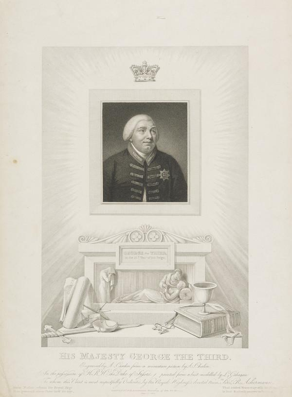 George III, 1738 - 1820. Reigned 1760 - 1820 (Published 1811)