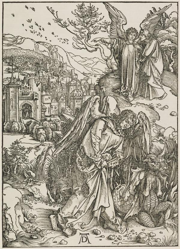 The Angel Showing Saint John the New Jerusalem (The Apocalypse) (About 1498)