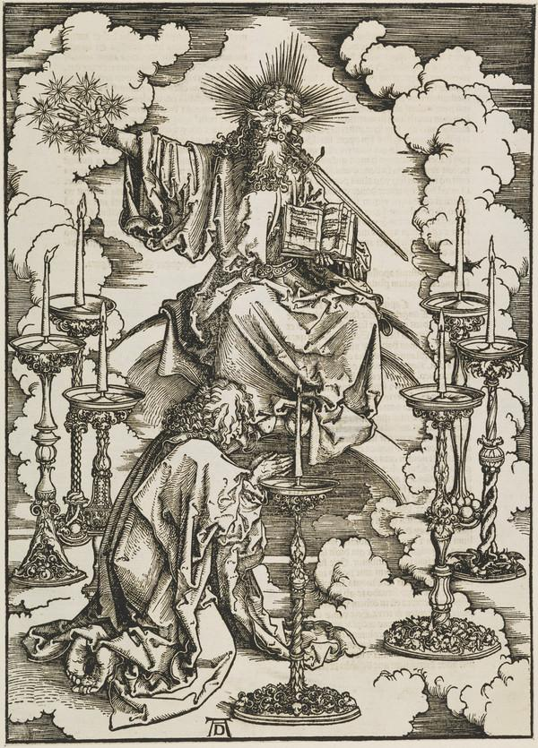 The Vision of the Seven Candlesticks (The Apocalypse) (About 1498)