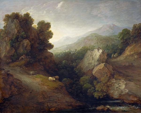 Rocky Landscape (About 1783)
