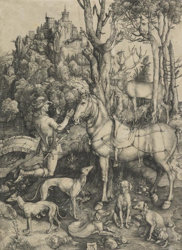 Saint Eustace (About 1501)