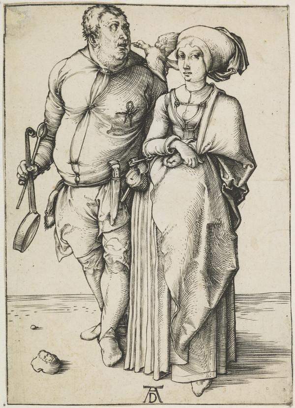 The Cook and His Wife (About 1496)