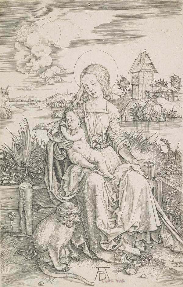 Madonna with the Monkey (About 1498)