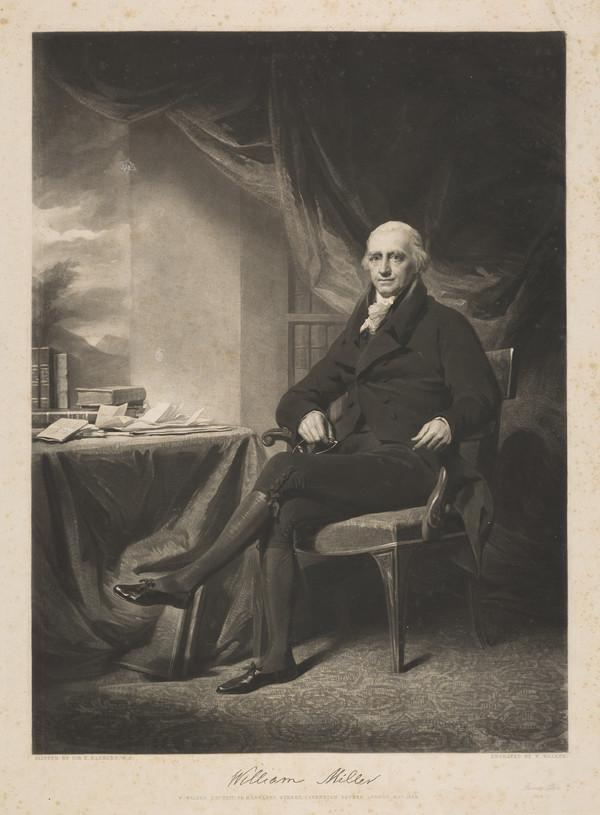 Sir William Miller, Lord Glenlee, 1755 - 1846. Scottish judge (Published 1838)