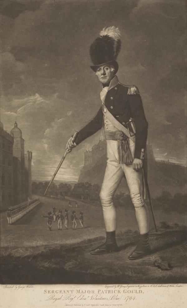 Sergeant-Major Patrick Gould, d. 1815. Royal Edinburgh Volunteers (Published 1810)