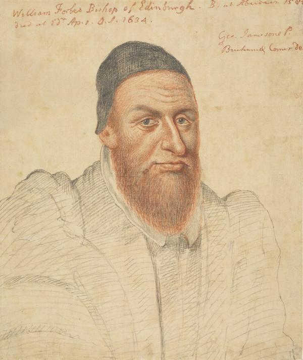 Bishop William Forbes, 1585 - 1634. First Protestant Bishop of Edinburgh