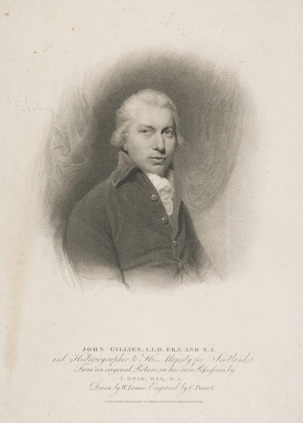 John Gillies, 1747 - 1836. Historiographer Royal of Scotland (Published 1873)